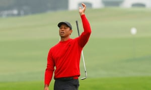 Defending champion Tiger Woods had a nightmare at the 12th hole during the final Masters round.