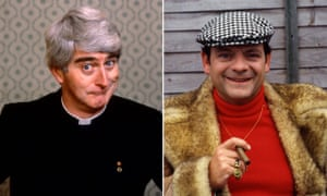 Father Ted's Dermot Morgan and Only Fools and Horses' David Jason.