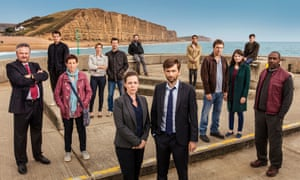 Impressive star casting … Broadchurch season three.