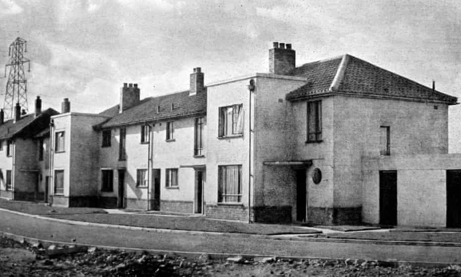 Bilston's Stowlawn estate in the 1950s.