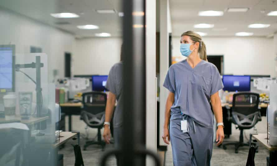 Kristin Lyerly: 'We've completely forgotten about the human impact on our healthcare workers. Our healthcare workers are exhausted, they're burned out and they feel entirely disrespected.'