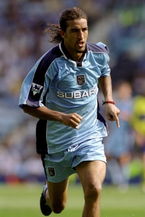 Mustapha Hadji played for Coventry City between 1999 and 2001.