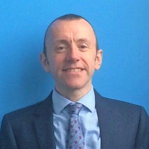 Tony Davies, head of St Matthew's primary in Cambridge