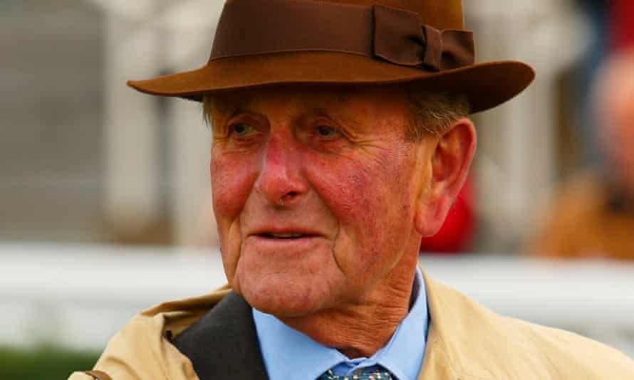 John Dunlop, photographed at Newbury in 2012.