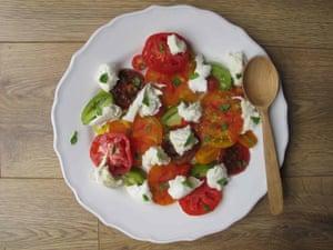 Perfect caprese salad.