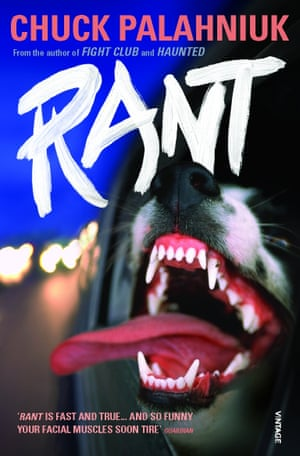 the cover of chuck palahniuk rant