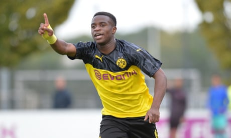 Borussia Dortmund allowed to play wonderkid Moukoko from November