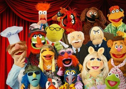 Intergenerational joy ... Muppets Now.