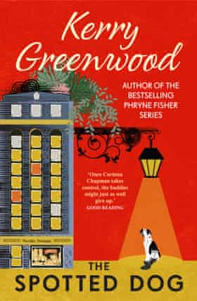 Cover image for The Spotted Dog by Kerry Greenwood