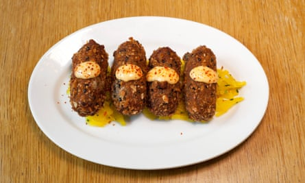 'Reliably huge flavours': ox cheek croquettes.