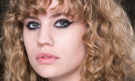Beauty spot: 1960s revival eyeliner with a twist