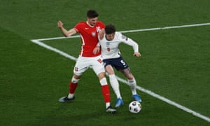 John Stones' dilly dallying leads to Jakub Moder dispossessing him before going on to score Poland's equaliser.