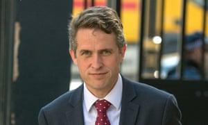 The defence secretary, Gavin Williamson