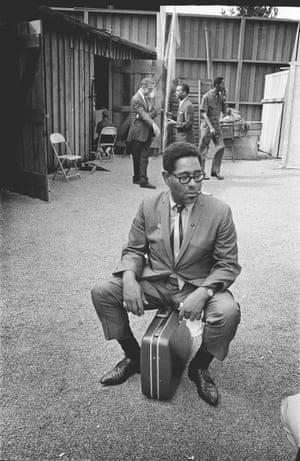 Dizzy Gillespie at 1963 Monterey jazz festival.