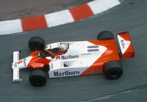 He returned to Formula One in 1982 with McLaren, finishing fifth that season.