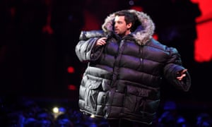 Jack Whitehall hosts the Brit awards at the O2 Arena, London.