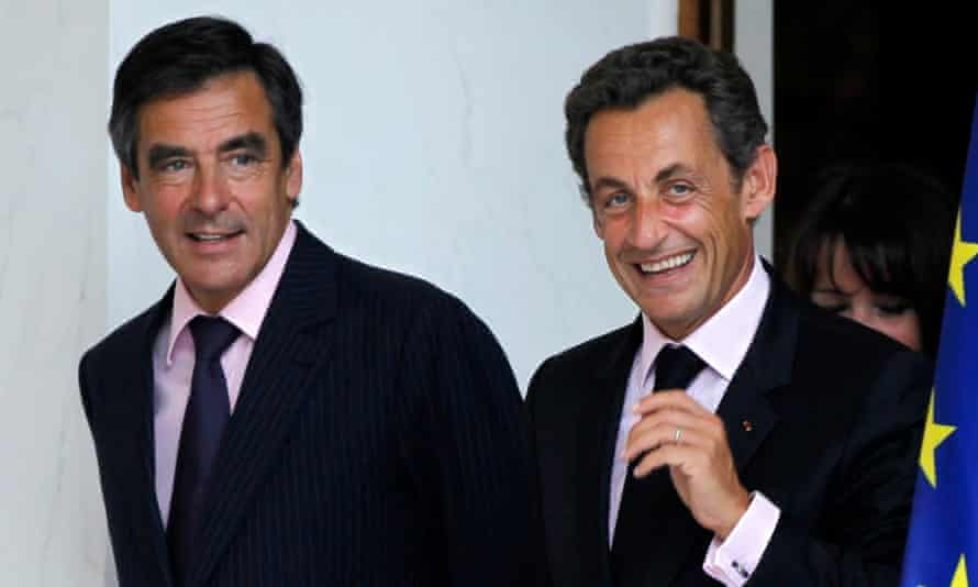 François Fillon and Nicolas Sarkozy in 2010, when they were prime minister and president.