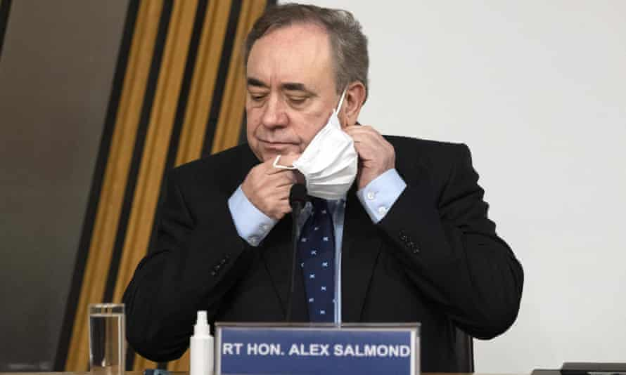 Alex Salmond at inquiry