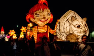 The 2015 Uralla Lantern Parade. Uralla is one of numerous communities addressing renewable energy directly.