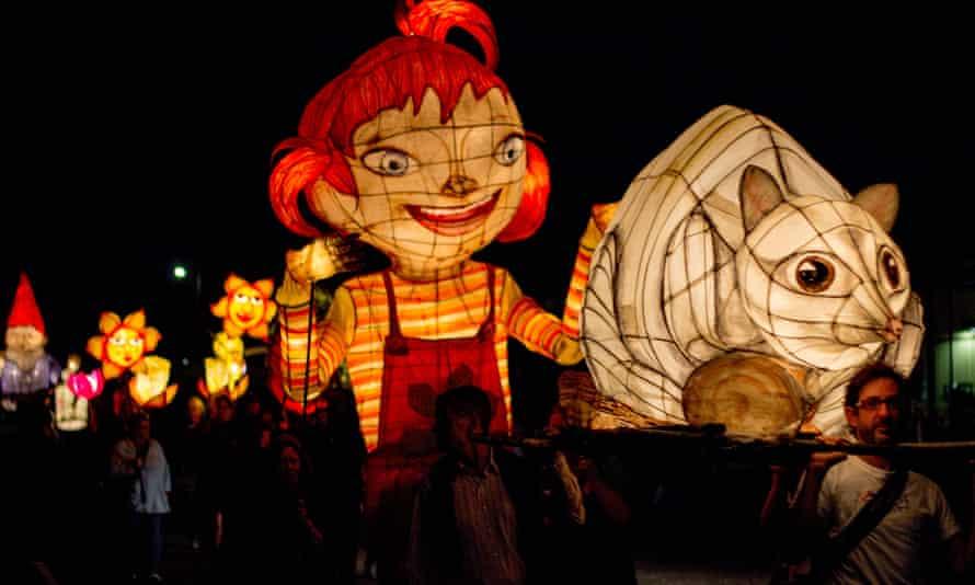 The 2015 Uralla Lantern Parade. Uralla is one of numerous communities addressing renewable energy directly.