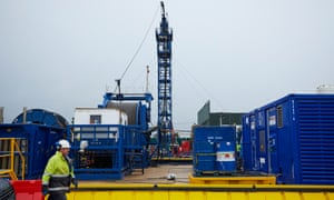 Cuadrilla's Preston New Road site in Lancashire
