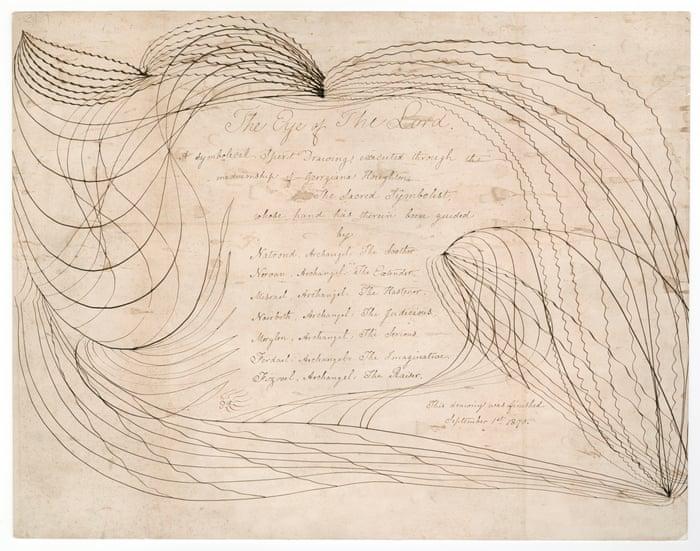 Georgiana Houghton: Spirit Drawings review – awe-inspiring visions