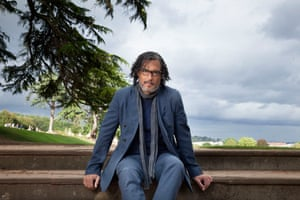 Historian and writer David Olusoga, photographed in Bristol for the author interview in the New Review.