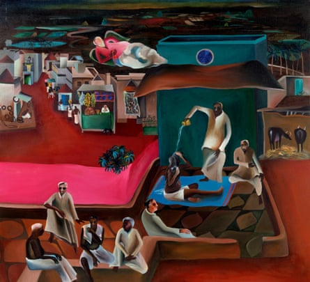 Death in the Family (1978) by Bhupen Khakhar