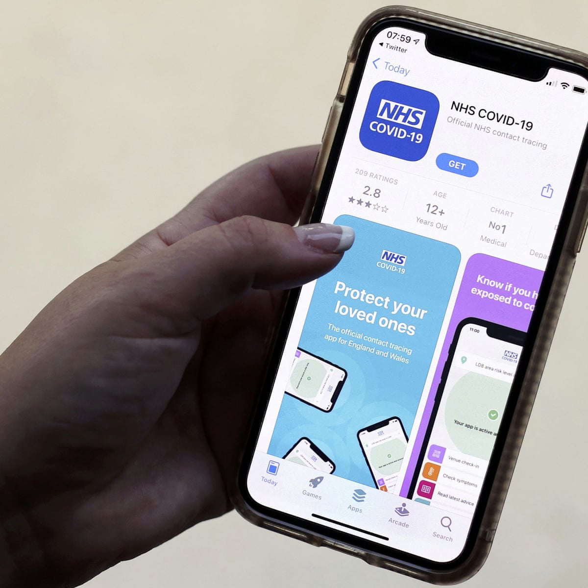 How To Download The Nhs Covid 19 Contact Tracing App Apps The Guardian
