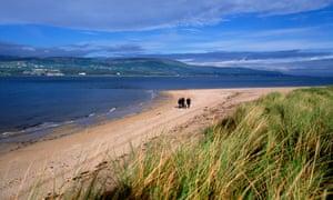 Magilligan Point in Derry, Northern Ireland.