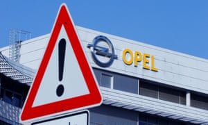 Opel headquarters in Germany