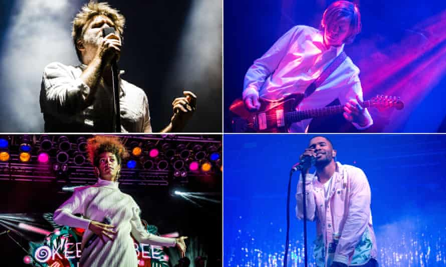 They were there: James Murphy of LCD Soundsystem, Thurston Moore, Frank Ocean and Solange
