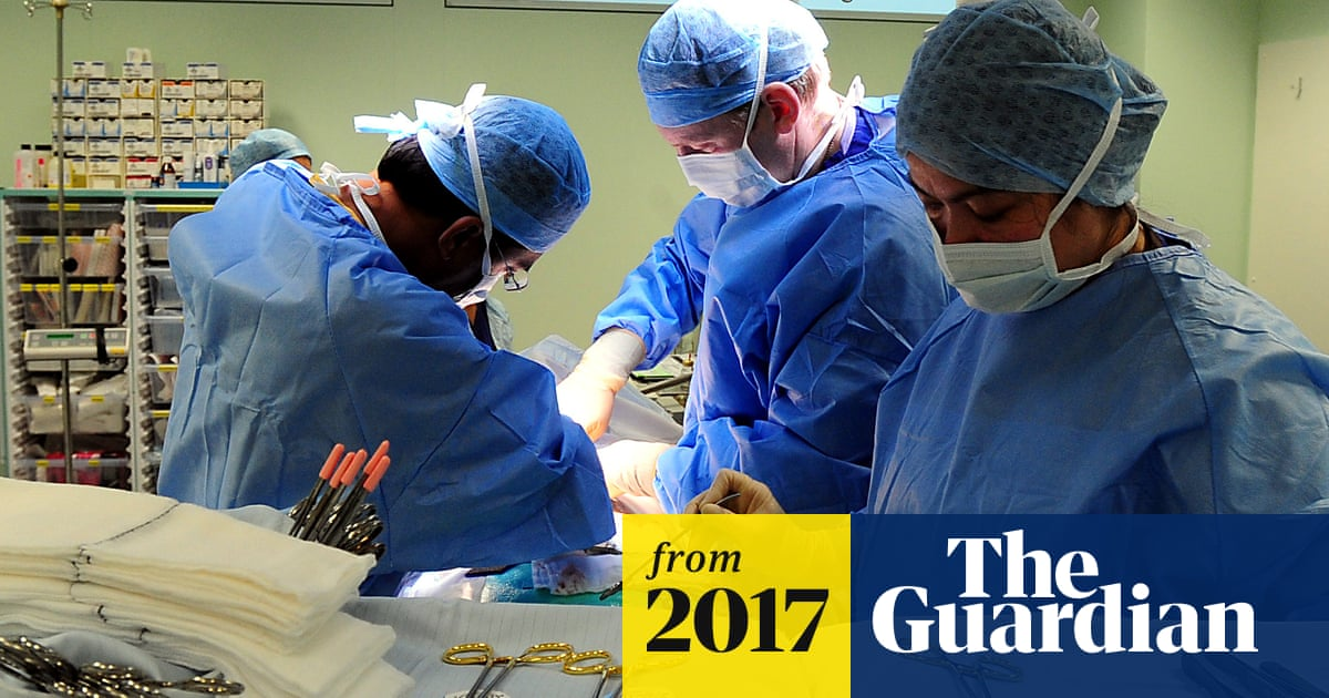 Number of cosmetic surgery procedures in UK fell 40% in 2016