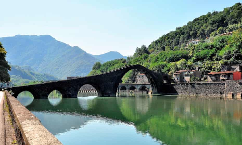 The Serchio River near Lucca