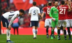 Dele Alli after Tottenham's FA Cup semi-final defeat