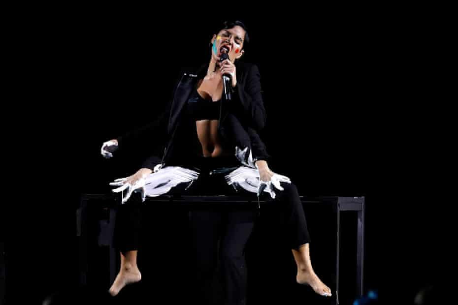 Performing in Sydney, Australia in 2019.