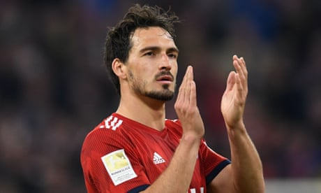 Mats Hummels to rejoin Borussia Dortmund from Bayern for £34m
