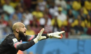 Goalkeeper Tim Howard was diagnosed with Tourette Syndrome aged 11.
