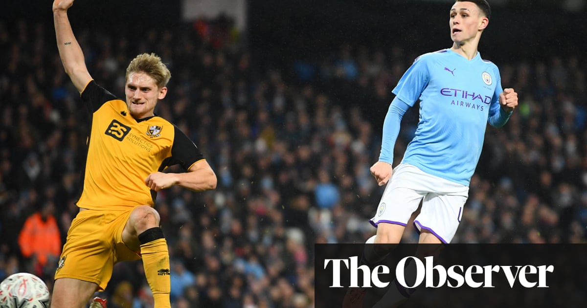 Phil Foden strike seals easy FA Cup win for Manchester City over Port Vale
