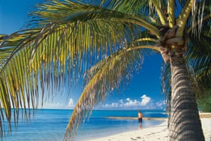 Rum Point, Grand Cayman Islands ... but living in a tax haven may not be as idyllic as you think.