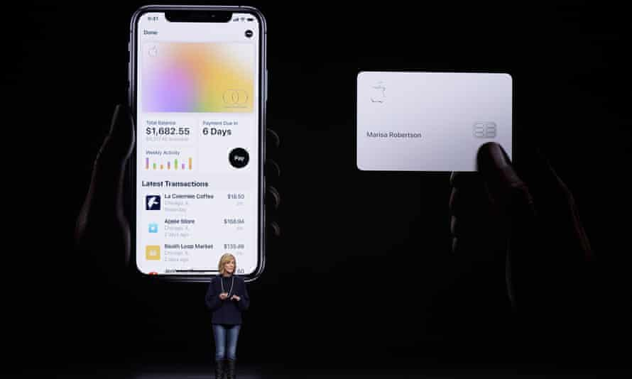 Jennifer Bailey, vice-president of Apple Pay, introducing the Apple Card earlier this year.