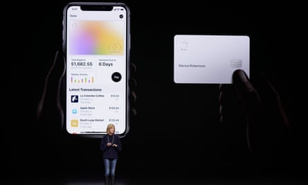 The Apple Card, provided by Goldman Sachs