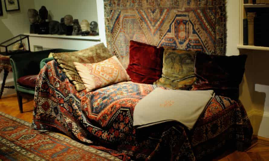Sigmund Freud's couch
