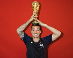Antoine Griezmann was runner-up to the Golden Boot winner, Harry Kane, but got his hands on a more important prize.