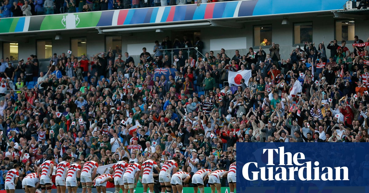 Japan's famous Rugby World Cup win is coming to a screen near you | Robert Kitson