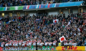 Japan's win over South Africa in the 2015 Rugby World Cup at Brighton was a huge upset.