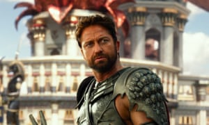 Bringing a sword to a gunfight … Gods of Egypt.