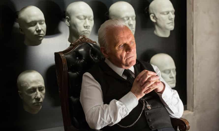 Anthony Hopkins as Dr Ford in HBO's Westworld.
