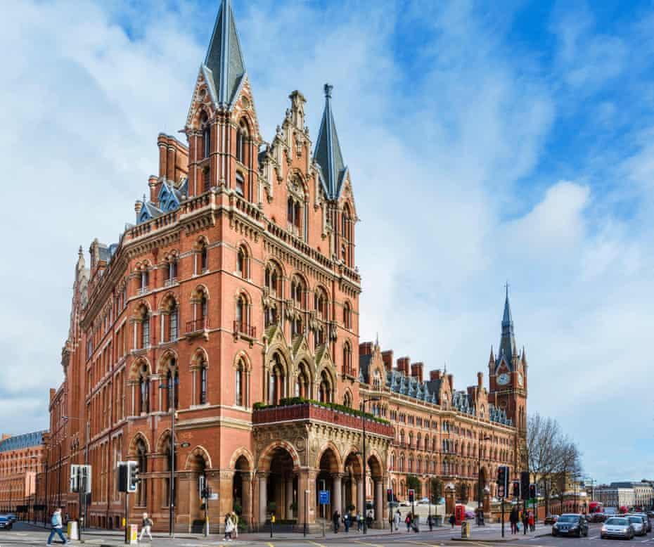 St Pancras International Station incorporating St Pancras Renaissance London Hotel,
