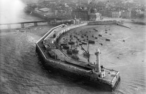 The Harbour pier, Margate, 1920